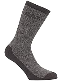 CAT Workwear Mens Workwear Thermal Cushioned Stretchy 2 Pack Socks