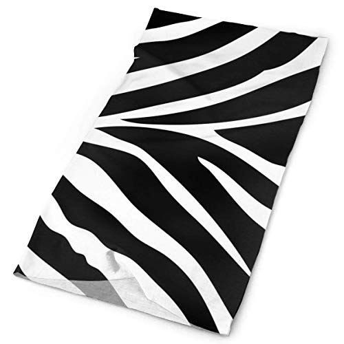 Zebra Horse Tiger Skin Animal Striped Headband Unisex Headwrap Magic Head Scarf Bandana Headwear Neckerchief Elastic Hairband Retro Headdress Foulard Face Mask Neck Gaiter