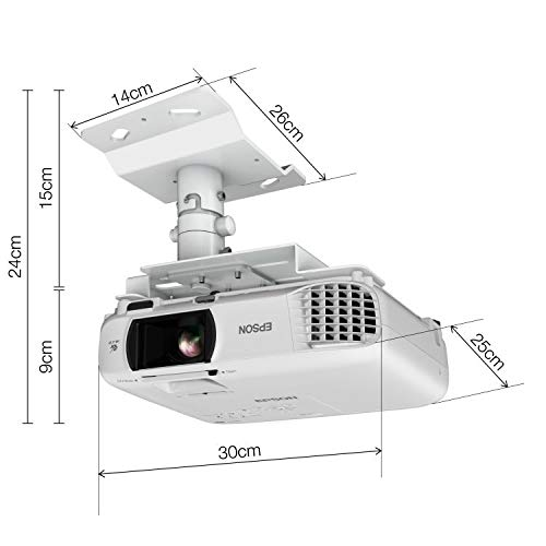 41fGhaR2Y8L. SS500  - Epson EH-TW650 3LCD, Full HD, 3100 Lumens, 300 Inch Display, Wi-Fi, Gaming & Home Cinema Projector - White