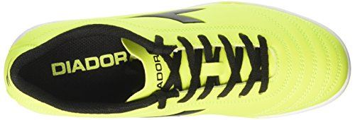 Diadora 650 III TF, Scarpe per Allenamento Calcio Uomo Giallo (Giallo Fluo/Nero)