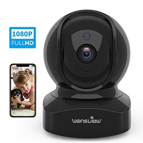 Caméra de Surveillance Wi-FI, Wansview Caméra IP Intérieur 1080P FHD avec Détection de...