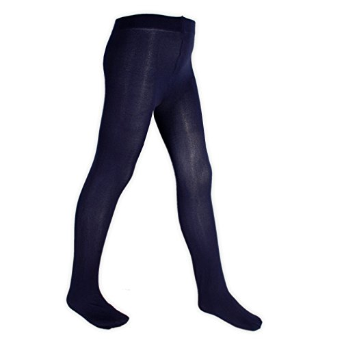new-girls-ladies-back-to-school-70-denier-opaque-tights-sizes-colours-available-3-5-years-navy