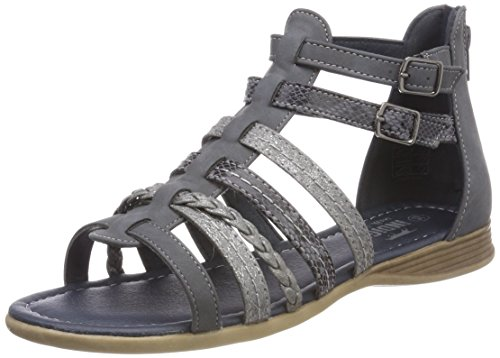517338ad7c8d Indigo Schuhe Mädchen 482 251 Römersandalen, Blau (Jeans), 33 EU