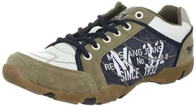 Mustang Herren 4003312, Herren Sneaker, Beige (beige / weiß / blau 418), EU 40