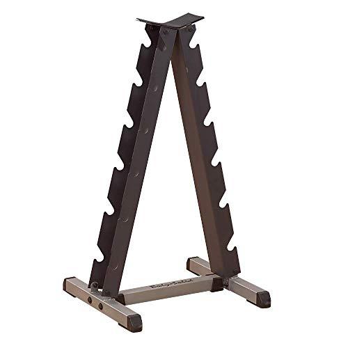 Body Solid Vertical Dumbbell Rack Grau/Schwarz, One Size