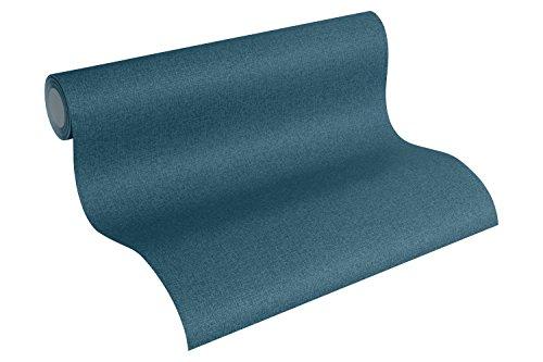 Designdschungel by Laura N. Vliestapete Tapete Unitapete 10,05 m x 0,53 m blau Made in Germany 342436 34243-6