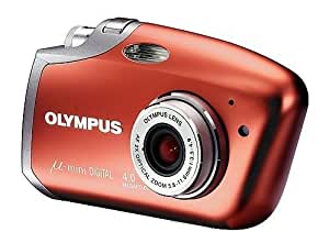 Olympus Mju Mini Velvet Red Digital camera [4MP , 2 x Optical Zoom]