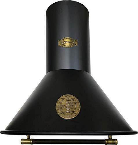 Kaiser Belle Epoque 6423 • Retro Dunstabzugshaube • Abzugshaube • Wandabzugshaube • Abluft/Umluft • 3 Stufen • 910 m³/h • 60 cm • Leder bedeckte Griffstange•inklusive Umluftset