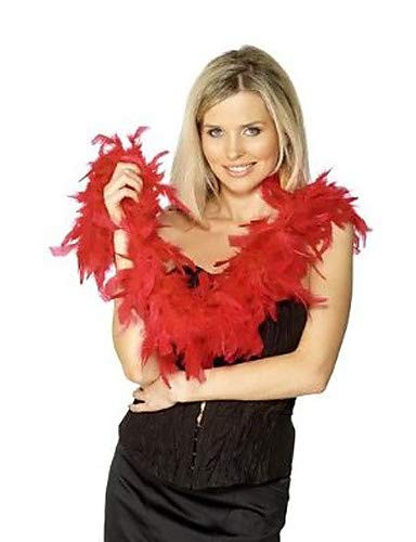 Feather Boas Kostüm - FGDJTYYJ Red Feather Boa