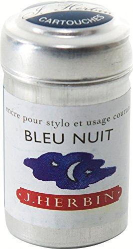 J hebrin Schreiben Tintenpatronen–Night Blau (6Stück) (Fountain Pen Refill-tinte)