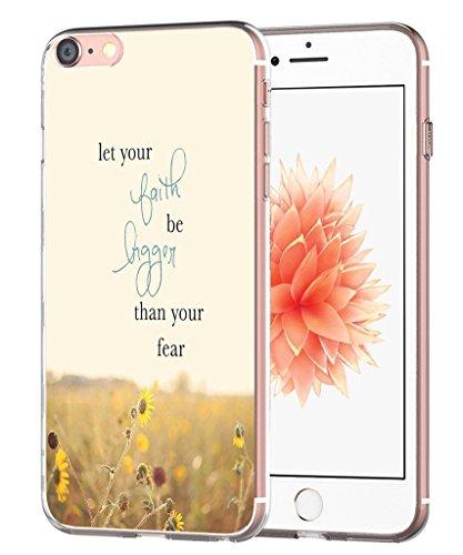 Inspirierende Buch (Fall für iPhone 8Zitate Motivational-Fall für iPhone 7-topgraph [Exact Kompatibel Slim Fit Klar mit Design Full Deckung] Ersatz Bumper für iPhone 8/7[Zitate Inspirierende von Bücher])