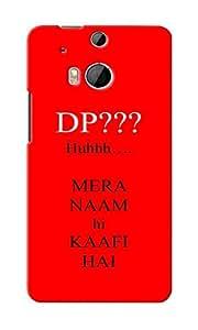 KnapCase DP Designer 3D Printed Case Cover For HTC One M8