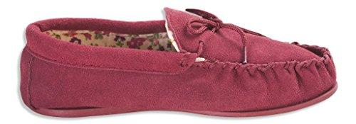 Nordvek # 419-100, Pantofole donna Rosso