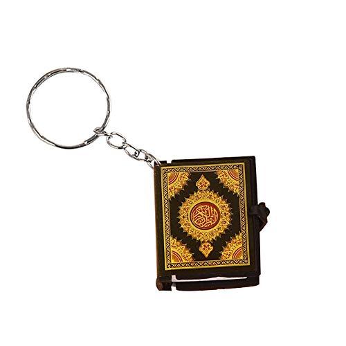 YUnnuopromi Unisex Mini Koran arabischer Anhänger, Schlüsselanhänger, Tasche, Auto, hängende Ornamente, Geburtstagsgeschenk