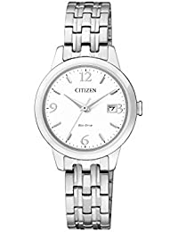 Citizen Herren-Armbanduhr Analog Quarz Edelstahl EW2230-56A