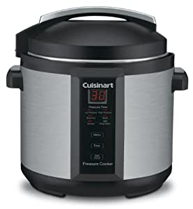 Cuisinart CPC-600 1000-Watt 6-Quart Electric Pressure Cooker Brushed Stainless and Matte Black