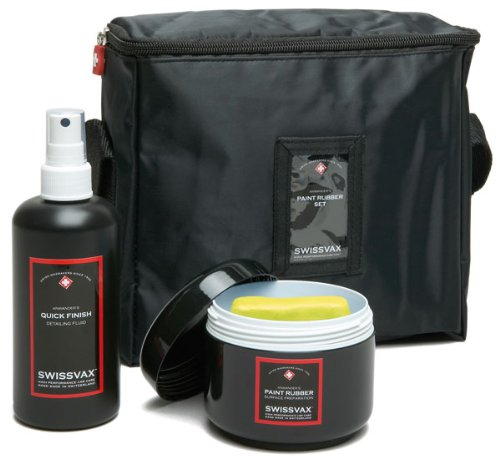 Quick Cleaner (Swizöl 1022922 Paint Rubber Set inklusiv 250 ml Quick Finish, normale Ausführung, Gelb)