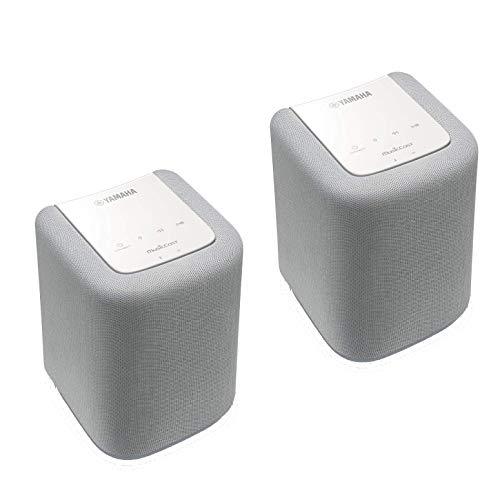 Yamaha WX-010 MusicCast Multiroom-Lautsprecher (Doppelpack) - Weiß