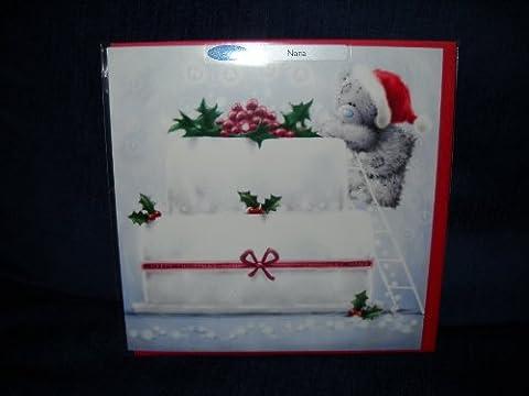 Me To You–Nana Carte de Noël–