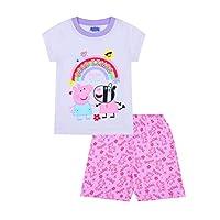 Girls Zoey Good Times Rainbow Short Pyjamas