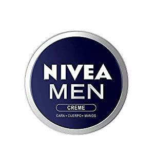 NIVEA MEN Creme (1 x 150 ml), crema para hombres, crema para cara, cuerpo y manos, crema multiusos hidratante para el cuidado de la piel masculina