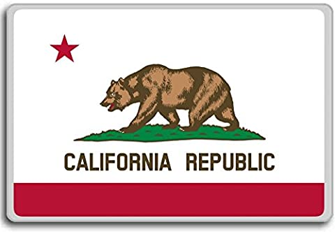 Flag Of California - Flags of the U.S. states fridge magnet - Kühlschrankmagnet