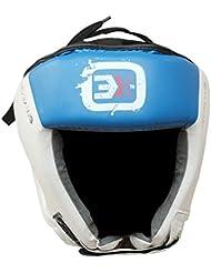 3x Deportes protector de cabeza Casco para artes marciales mixtas Boxeo Protective Gear–Entrenamiento Artes Marciales, color Azul - azul, tamaño mediano