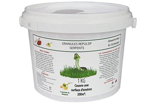 Feuille Rouge Schlangen-Abwehrmittel - Granulat - 1-kg-Eimer