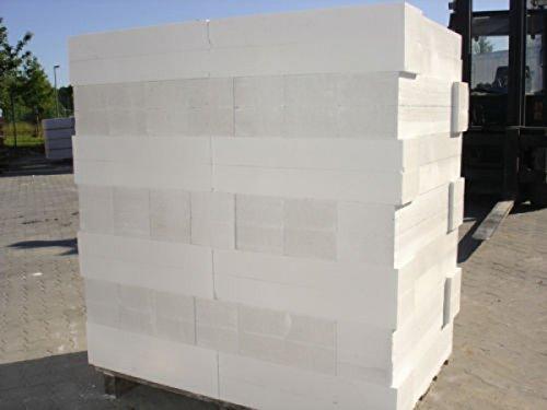 15 Paletten 199,50 m² ! Porenbeton Plansteine Gasbeton 10 cm breit x 19 cm hoch x 62,5 cm lang , Porenbeton frachtfrei