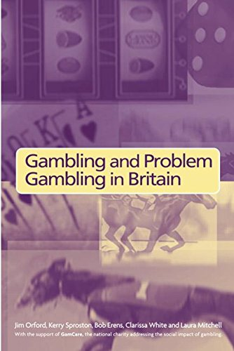 Gambling and Problem Gambling in Britain -