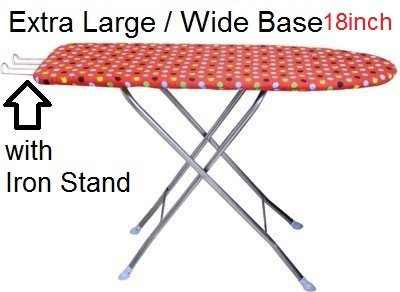 Trugood Folding Ironing Board ,Iron Table With Press Holder ( Stand ) Size 122 X 47 Cm (48 X 18 Inch )  available at amazon for Rs.978