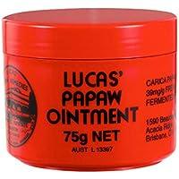 Lucas Papaw Ungüento, 75g Lucas Papaw Ungüento Protector labial multifuncional Bálsamo labial humectante Crema hidratante para pañales Crema antiarrugas para papaya