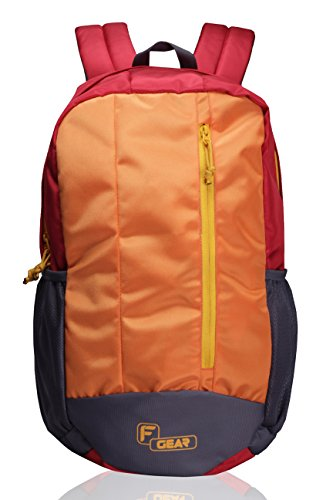 F Gear Block Buster 20 Liter Casual Backpack (Red)  available at amazon for Rs.499