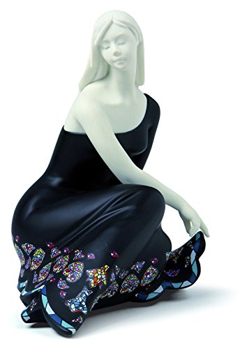 Nadal Mini Figura Decorativa Serena, Resina, 9.70x7.80x11.20 cm
