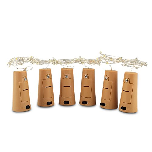 [Pack of 6] Led Bottle Cork Ligh...
