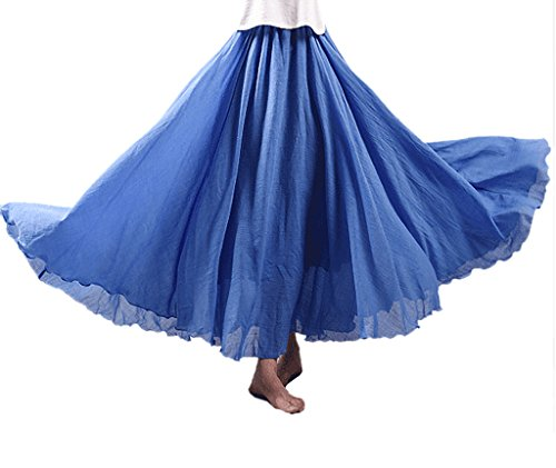 wslcn-women-bohemia-skirt-long-linen-cotton-skirt-denim-blue-long-95cm