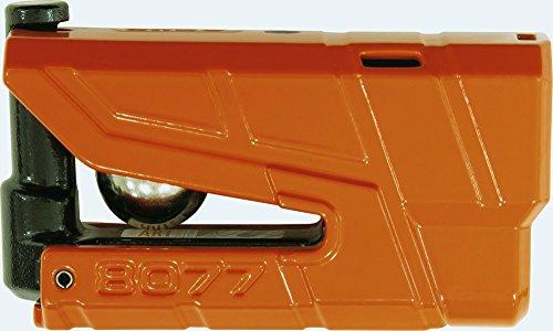 ABUS 8077-2Bremsscheibenschloss Alarm Moto SRA, Orange