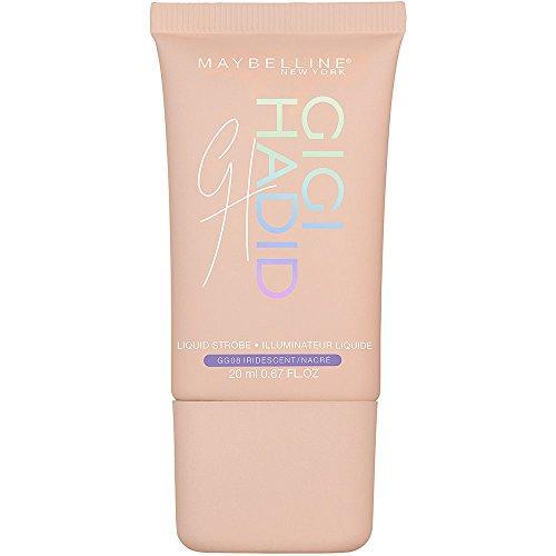 Maybelline New York X Gigi Hadid Iluminador Líquido East Coast Glam Edición Limitada, Tono GG08 Cool