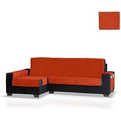 Cubre sofá Chaise Longue Biggie, Brazo Izquierdo, tamaño normal (243 Cm.), Color 19 (varios colores