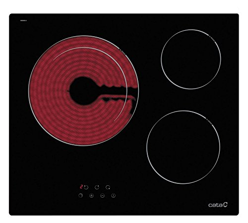 CATA TDN 603 - Placa Vitrocerámica Tdn603 Con 3 Zonas