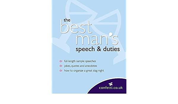 buy confetti the best man s speech duties book online at low