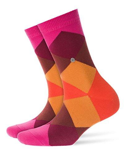 Burlington Damen Bonnie Socken Damensocken Baumwolle, Blickdicht, Mehrfarbig (Priemel 8551), 36/41 (One Size)