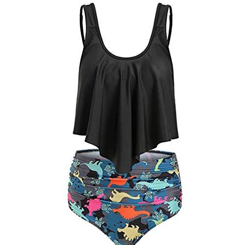 r Badeanzug Bademode für Mollige Frauen Bandeau Shirt Nachthemd Mädchen 140 Damen Hipster Unterwäache Strandhose Herren Damen Dessous Sexy ()
