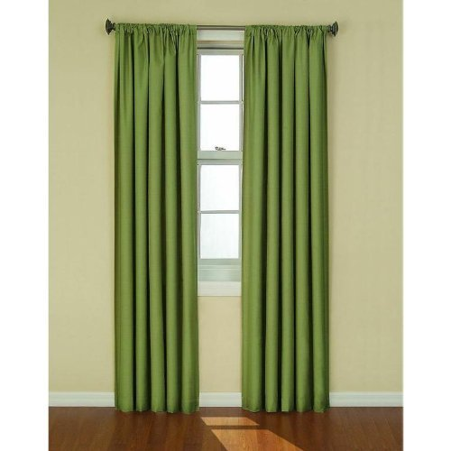 Eclipse Curtains 106,7 x 213,4 cm Kendall Blackout Fenster Vorhang Panel - Artischocke -
