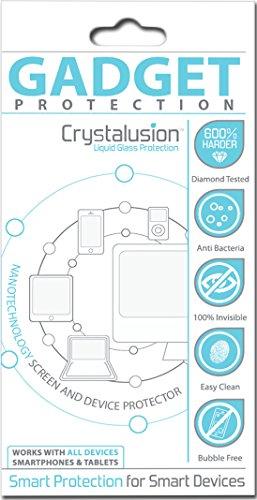 Crystalusion–Protector de pantalla de cristal líquido para pantallas (cámaras, teléfonos móviles, ordenadores portátiles, tablets, televisores y monitores