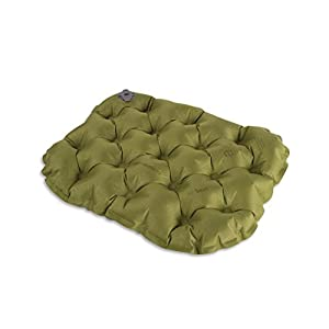 41fH3AZifWL. SS300  - Sea to Summit Air Seat - Stadium & Sporting Event Inflatable Compact Cushion, Green