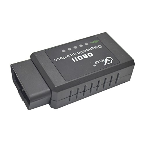 Ebestgoods auto strumento diagnostico WiFi OBD 2OBDII auto Scan Tool scanner code Reader adattatore auto (Sensore Chevy Ossigeno)
