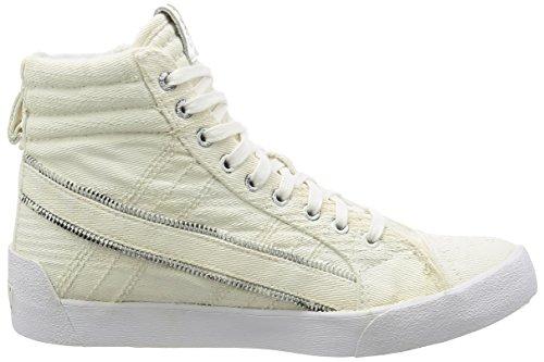 Diesel D-String - Hommes Chaussures Blanc