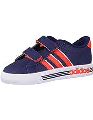 Adidas - Daily Team - F76621 - Color: Azul-Negro-Rojo - Size: 46.0