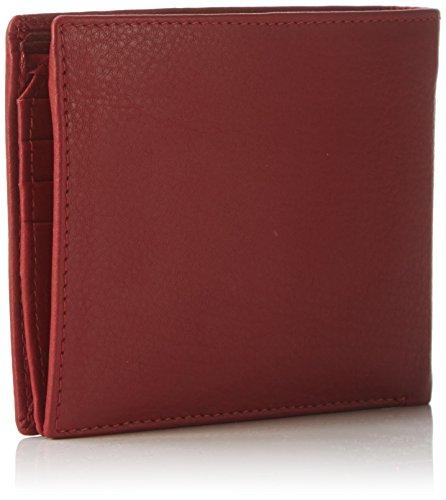 Bruno Banani GELDBEUTEL W 320.162 Unisex-Erwachsene Geldbörsen 2x10x12 cm (B x H x T) Rot (Hellrot)